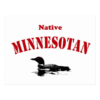 Minnesotan nativo postales