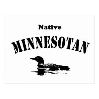 Minnesotan nativo tarjetas postales