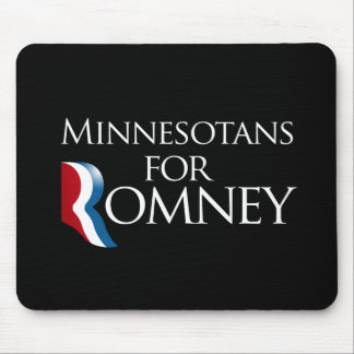 Minnesotans for Romney -.png Mouse Pad