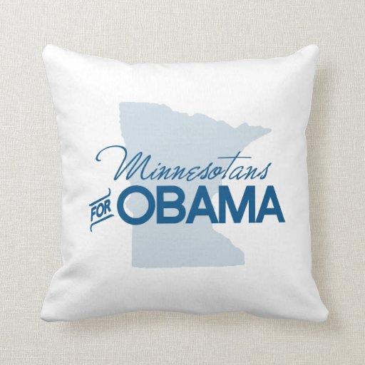 Minnesotans para Obama.png Almohada