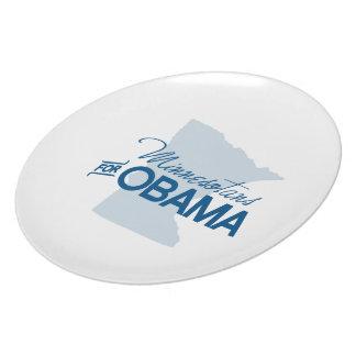 Minnesotans para Obama.png Plato De Comida