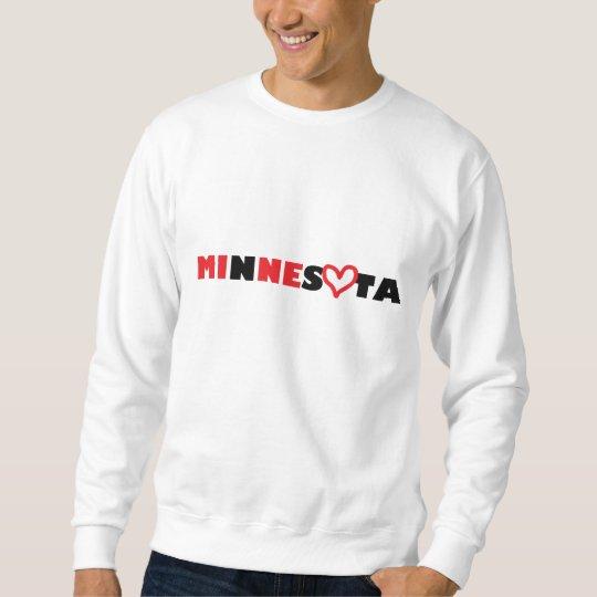 Minnesota's Heart is Mine Sweatshirt