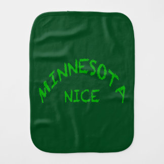 Minnesotya Nice Burp Cloth