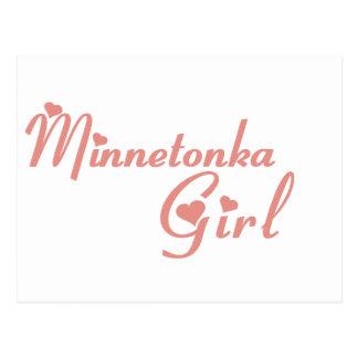 Minnetonka Girl tee shirts Post Card