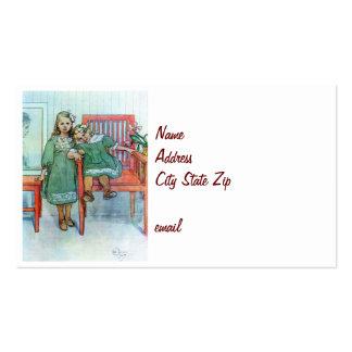 Minni un Essi Sisters Together Business Card