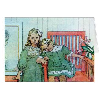 Minni un Essi Sisters Together Card