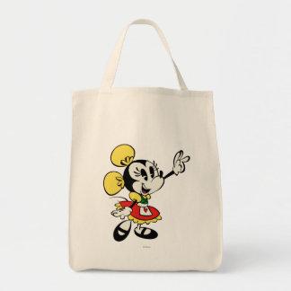 Minnie 2 bolsa tela para la compra
