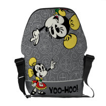 Minnie 2 courier bag at Zazzle