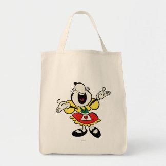 Minnie 3 bolsa tela para la compra
