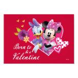 Minnie and Daisy Valentine Card