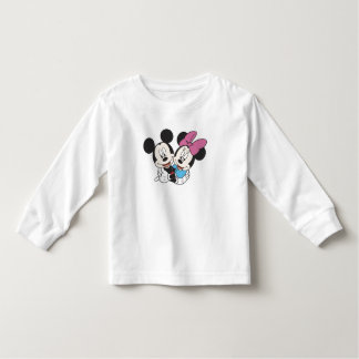 Minnie and Mickey Hugging Toddler T-shirt