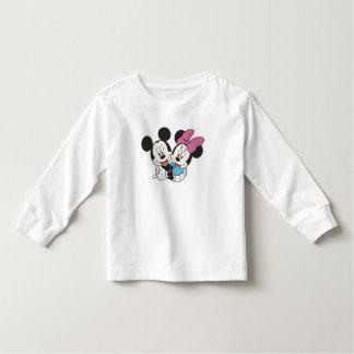 Minnie and Mickey Hugging Shirts