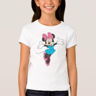 Minnie azul el | que salta playera