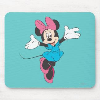 Minnie azul el | que salta tapetes de ratones