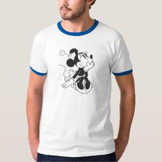 Minnie blanco y negro playera