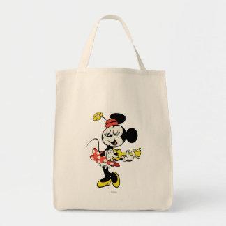 Minnie Bolsa Tela Para La Compra