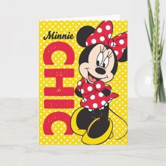 Minnie Chic zazzle_card