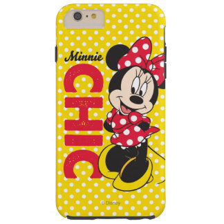 Minnie Chic Tough iPhone 6 Plus Case