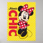 Minnie Chic Poster