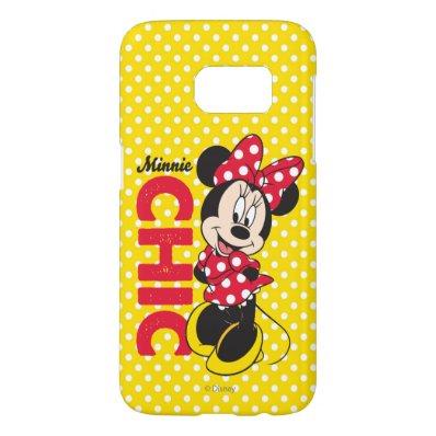 Minnie Chic Samsung Galaxy S7 Case