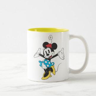 Minnie clásico el | emocionado taza de dos tonos