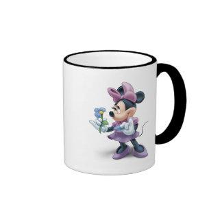 Minnie con la flor taza