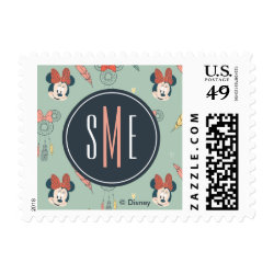 Small Stamp 1.8' x 1.3' with Disney Princesses Anna & Elsa in Heart design