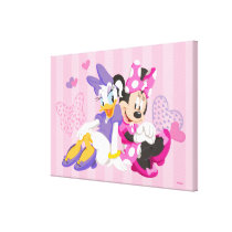Minnie & Daisy | Super Helpers Canvas Print
