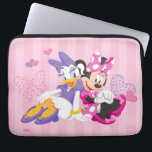 "Minnie &amp; Daisy | Super Helpers Laptop Sleeve<br><div class=""desc"">Girls can do anything! This Minnie Helpers graphic features Minnie in this fun &quot;Super Helpers&quot; design.</div>"