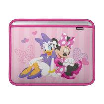 Minnie & Daisy | Super Helpers MacBook Air Sleeve