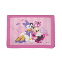 Minnie & Daisy | Super Helpers Trifold Wallets