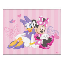 Minnie & Daisy | Super Helpers Wood Print