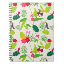 Minnie & Daisy | Tropical Pattern Notebook