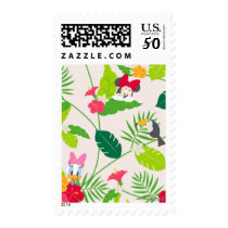 Minnie & Daisy | Tropical Pattern Postage
