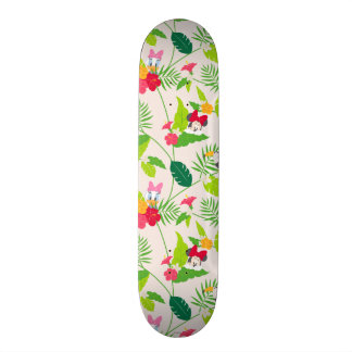 Minnie & Daisy | Tropical Pattern Skateboard