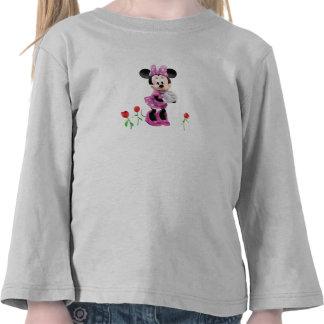 Minnie de la casa del club de Mickey Mouse con los Camiseta
