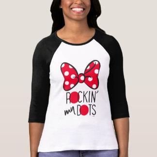 Minnie de moda el | Rockin mis puntos Playera