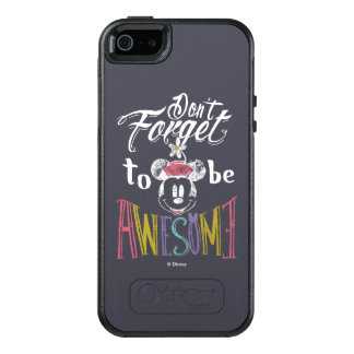 Minnie | Don't Forget To Be Awesome OtterBox iPhone 5/5s/SE Case