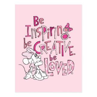 Minnie el | esté inspirando postales
