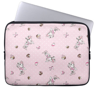 Minnie | Elegant Pose Watercolor Computer Sleeve