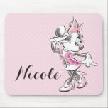 "Minnie | Elegant Pose Watercolor Mouse Pad<br><div class=""desc"">Minnie Mouse 