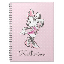Minnie | Elegant Pose Watercolor Notebook