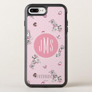 Minnie | Elegant Pose Watercolor OtterBox Symmetry iPhone 7 Plus Case