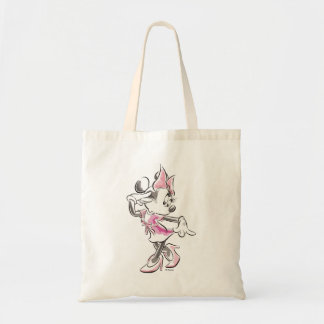 Minnie | Elegant Pose Watercolor Tote Bag