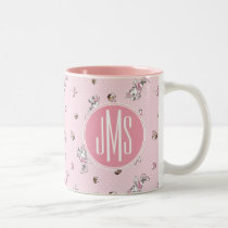 Minnie | Elegant Pose Watercolor Two-Tone Coffee Mug