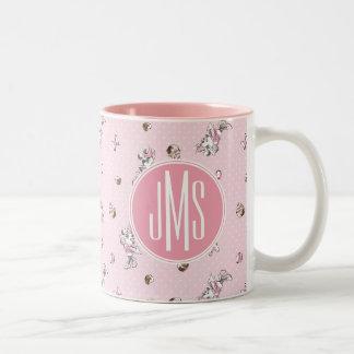 Minnie | Elegant Pose Watercolor Two-Tone Coffee Mug