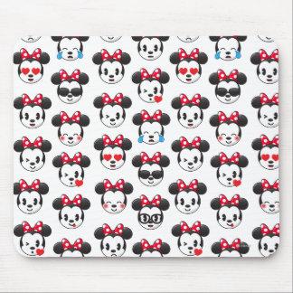 Minnie Emoji Land Pattern Mouse Pad