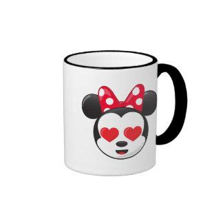 Minnie en amor taza de dos colores