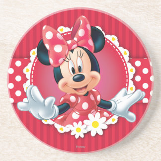Minnie Flower Frame Coaster