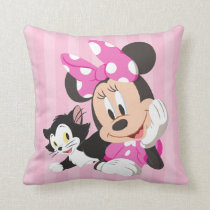 Minnie | Girls can do Anything Throw Pillow